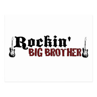 Rockin Big Brother Postcard