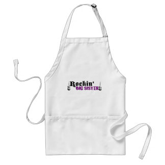 Rockin Big Sister Adult Apron