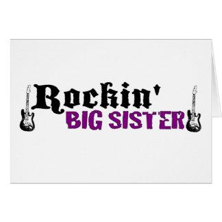 Rockin Big Sister Card
