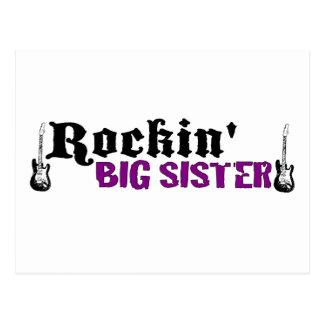 Rockin Big Sister Postcard