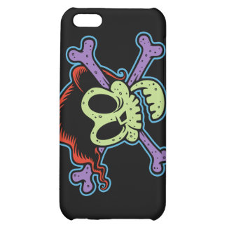 Rockin Billy Skull Case For iPhone 5C