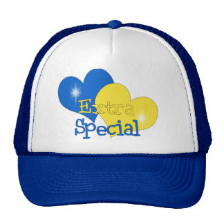 Rockin Blue and Yellow Hats