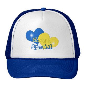 Rockin Blue and Yellow Mesh Hats