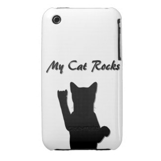 Rockin' Cat I Phone 3G/3GS Case Mate Barely There