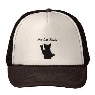 Rockin' Cat Trucker Hat