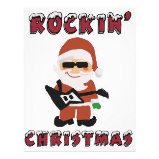 Rockin' Christmas Cool Santa Flyer