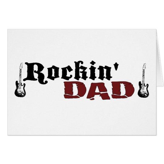 Rockin Dad Card