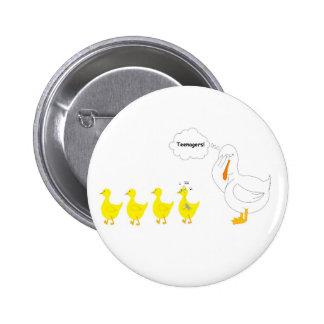 Rockin Ducky Pinback Button