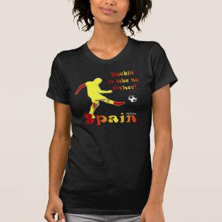 Rockin él camiseta de las señoras Twofer de España