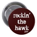 Rockin el halcón pin