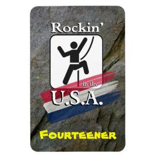 Rockin'. en los E.E.U.U. - imán del escalador