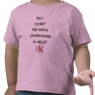 Rockin este cromosoma adicional camisetas