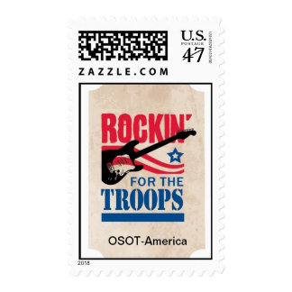 Rockin for the Troops Postage
