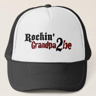 Rockin Grandpa 2 Be Trucker Hat