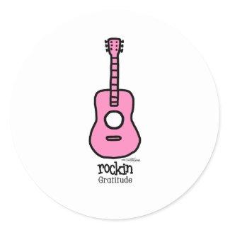 Rockin Gratitude sticker