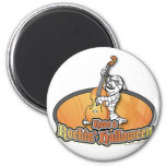 Rockin' Halloween with Mummy on the Upright Bass Magnets