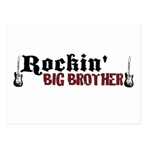 Rockin hermano mayor tarjetas postales