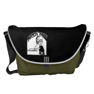 Rockin' House Large Messenger Bag