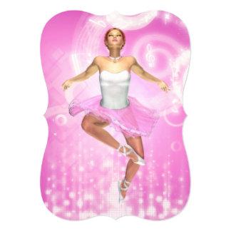 Rockin' It Ballet Style Invite (customizable)