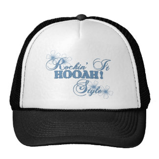 Rockin It HOOAH Style Hats
