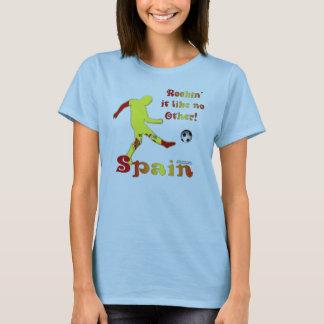 Rockin' It Spain Ladies Babydoll T-Shirt