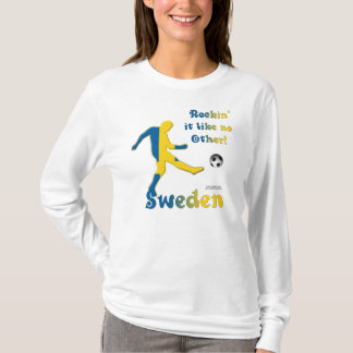 Rockin' It Sweden Ladies Long Sleeve Shirt