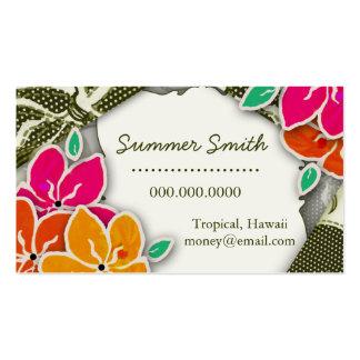 ROCKIN' LAINEY HAWAIIAN BUSINESS CARD
