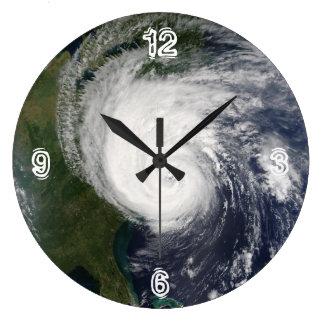 Rockin' Like A Hurricane Large Clock