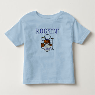 rockin lil bro toddler t-shirt