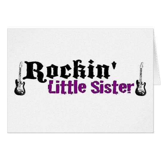 Rockin Little Sister Card
