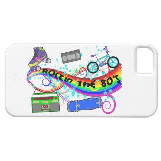 Rockin los años 80 iPhone 5 fundas