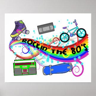 Rockin los años 80 póster