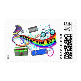 Rockin los años 80 sellos