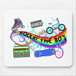 Rockin los años 80 tapetes de ratón