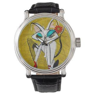 Rockin los duques de la margarita: Reloj moderno