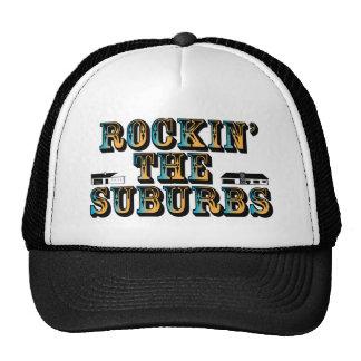 Rockin los suburbios gorros