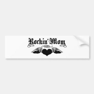 Rockin' Mom Bumper Sticker