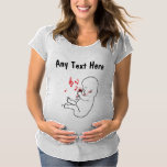 Rockin' Music Baby Maternity T-Shirt