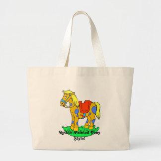 Rockin' Painted Pony Style! Handbag - Toy Tote