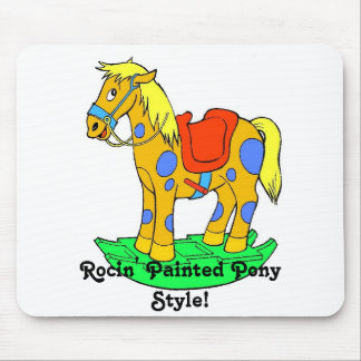 Rockin' Painted Pony Style! Mousepad Mouse Pad