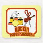 Rockin Paper Scissors Mousepad