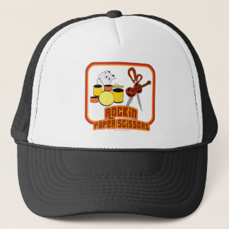 Rockin Paper Scissors Trucker Hat