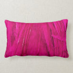 Rockin' Pink Feather Boa Pillow