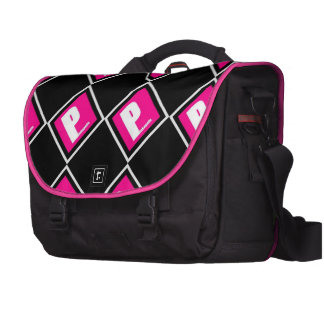 Rockin 'Pink' Protection at night! Commuter Bag