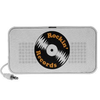 Rockin' Records Notebook Speakers