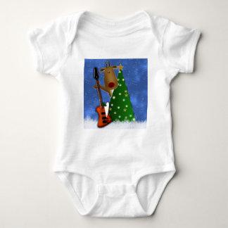 Rockin Reindeer Baby Bodysuit