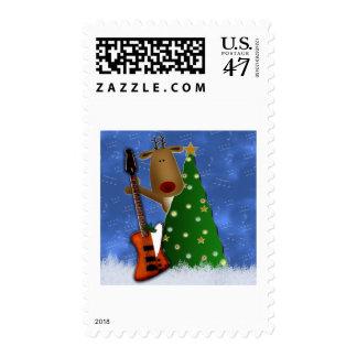 Rockin Reindeer Postage