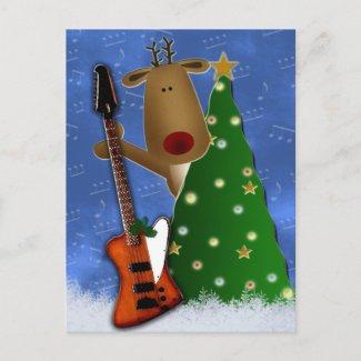 Rockin Reindeer Postcards