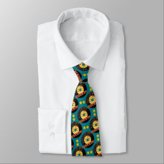 Rockin' Retro Records on Teal Tie