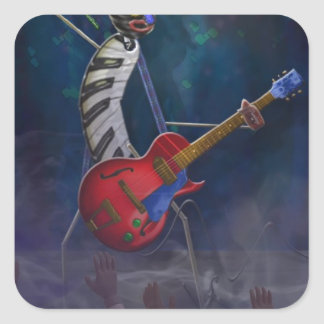Rockin-Rhapsody-Roy.jpg Pegatina Cuadrada